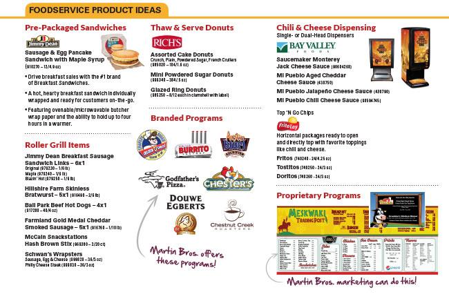 FoodserviceProductIdeas