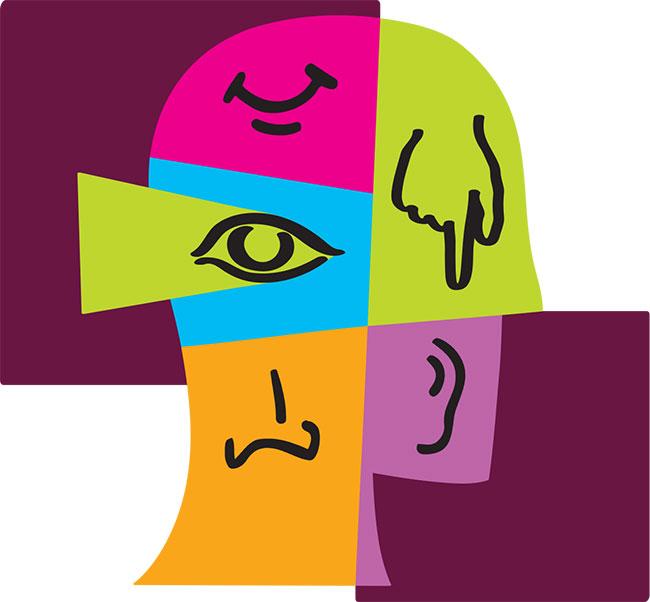 five-senses-head