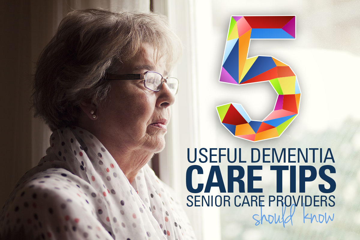 Senior Care Provider Tips