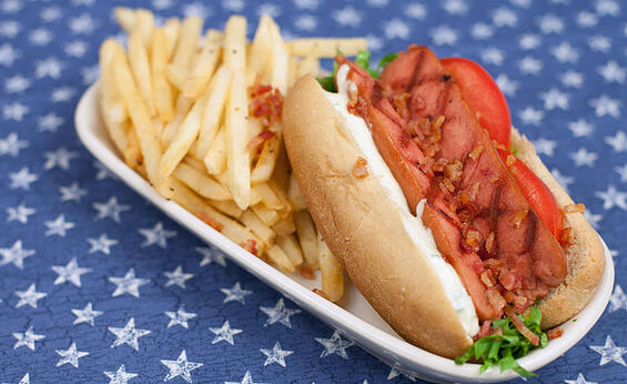 Foodservice BLT Hotdog