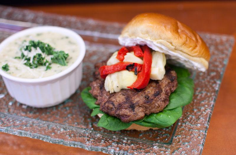 Foodservice Californian Burger