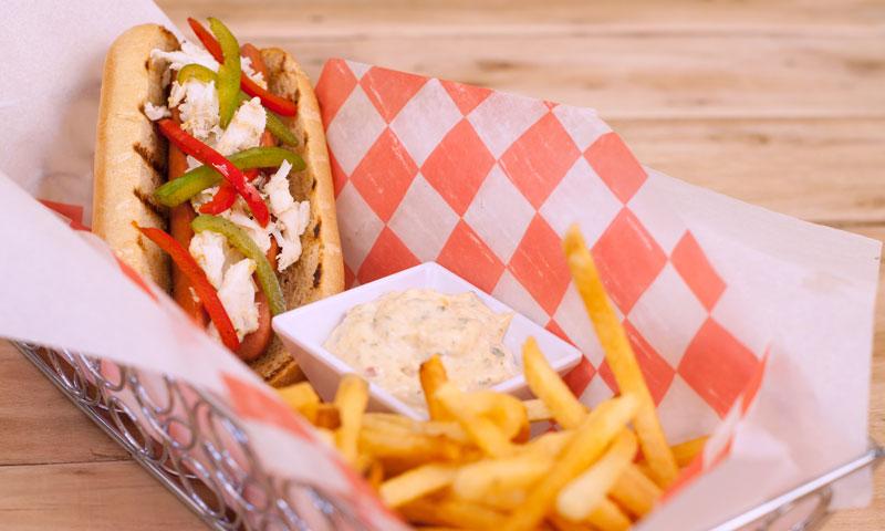 Foodservice Crabby Hotdog