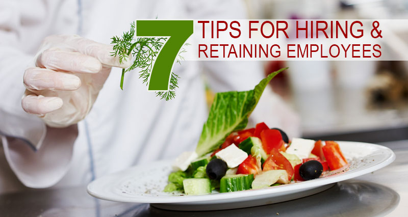 Retaining Food Service Employees Header