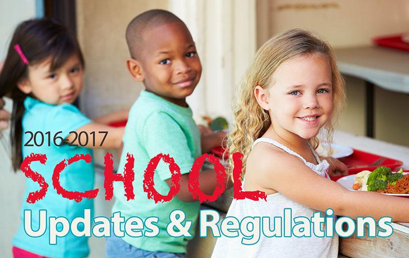 Food Service Regulations for Schools