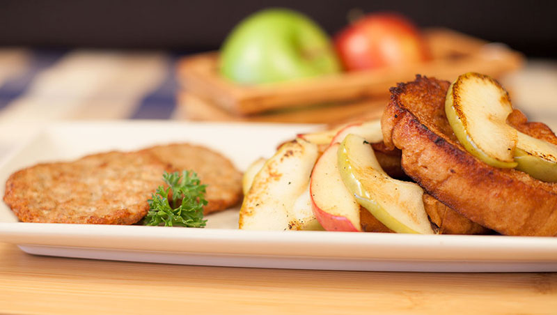 Food service recipe - Apple French Toast