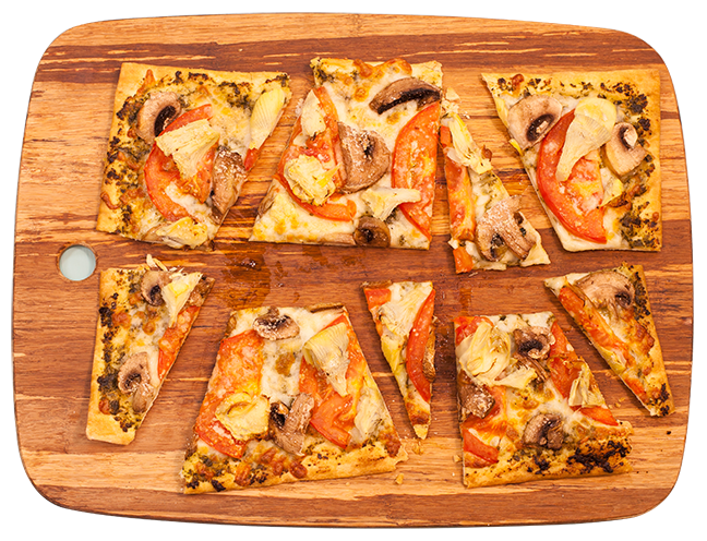 Foodservice recipe - Mediterranean Pizza