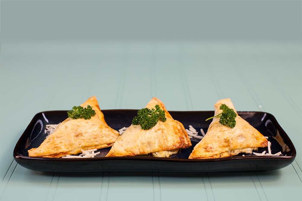 Foodservice recipe - Stuffed Calzone