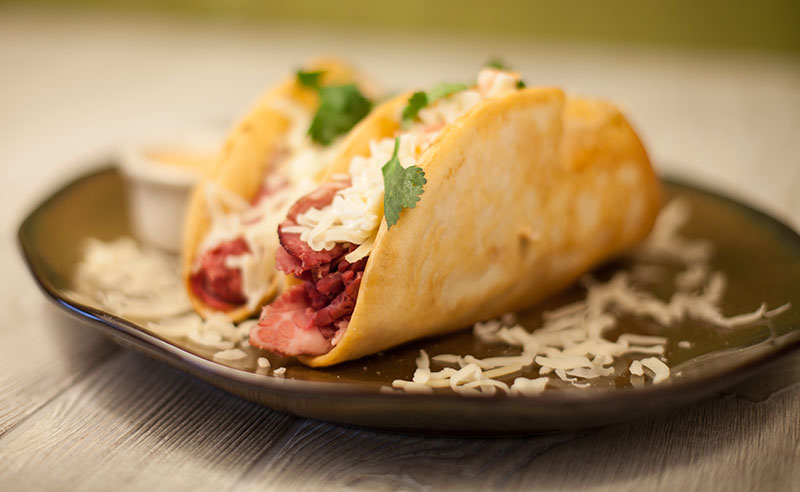 Food Service Recipe - Irish Tacos