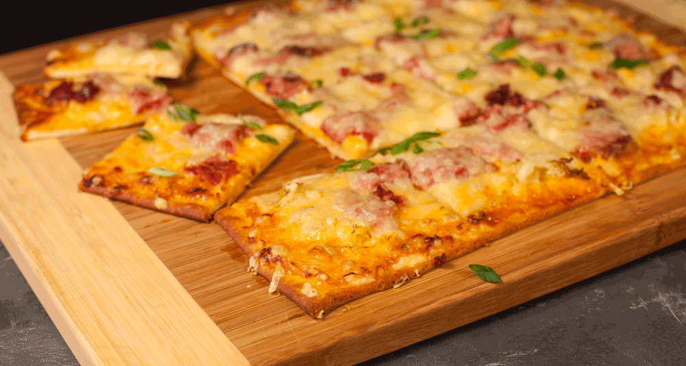 Food Service Recipe - Reuben Pizza