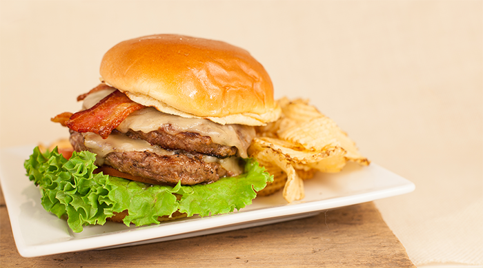 Foodservice Trends for 2016 - Double Bacon Cheeseburger