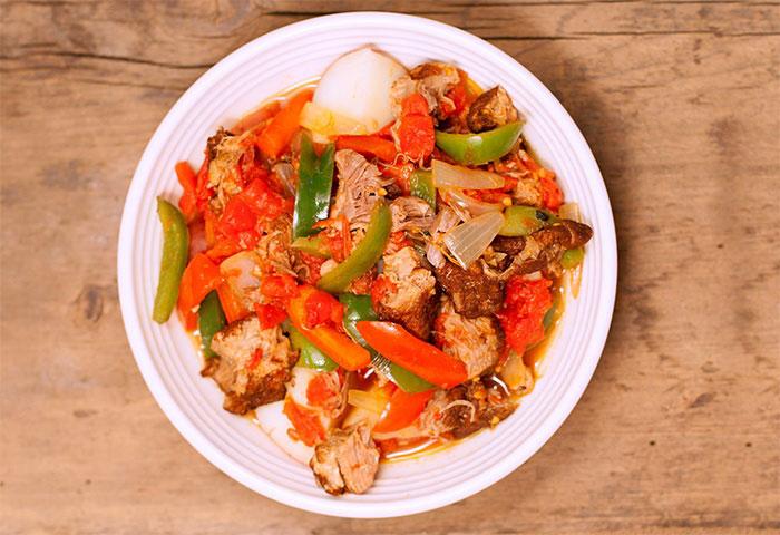 Foodservice Recipe - Pork & Pepper Stew