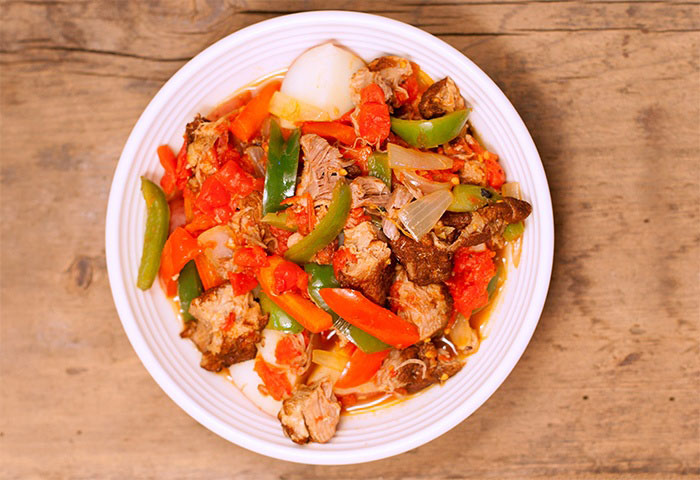 Foodservice Recipe - Pork & Pepper Stew