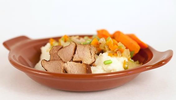 Foodservice Recipe - Country Braised Pork Dinner