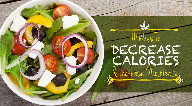 Foodservice Decreasing Calories