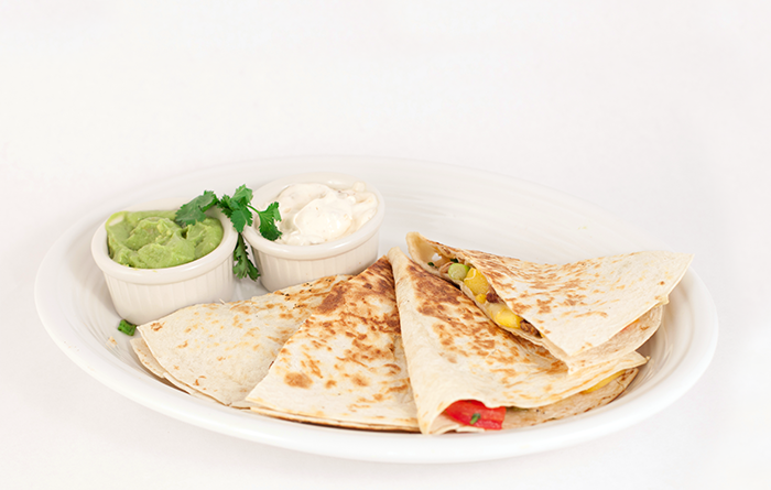 Foodservice Recipe - Pork & Peach Quesadilla