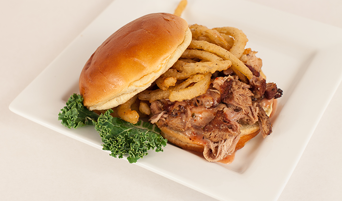 Foodservice Recipe - Strawberry Chipotle Pork Sandwich