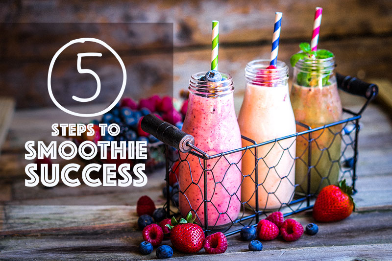 Food service smoothie success