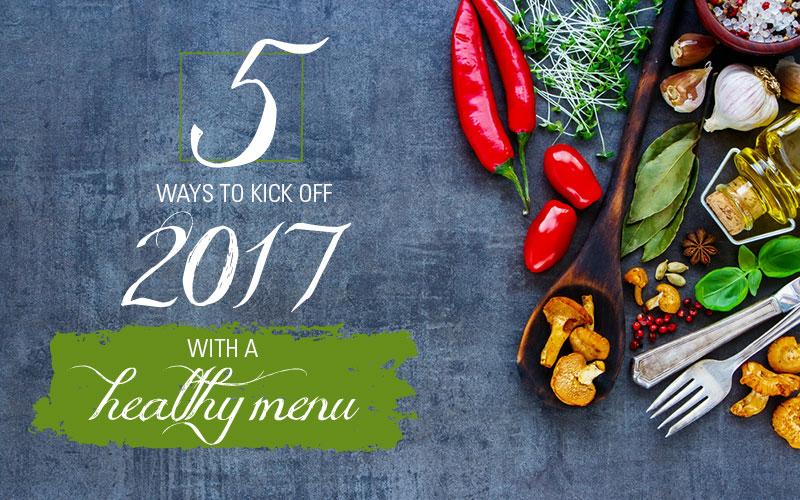 Healthy Foodservice Menu Header