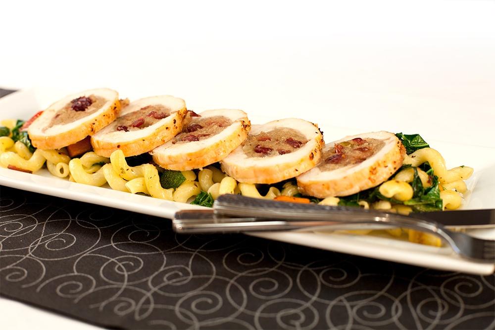 Food service - AdvancePierre Cranberry & Sage Stuffed Chicken