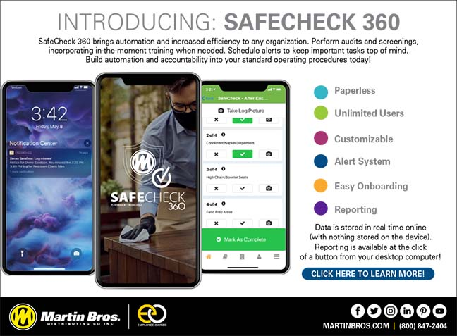 SafeCheck360_Restaurant