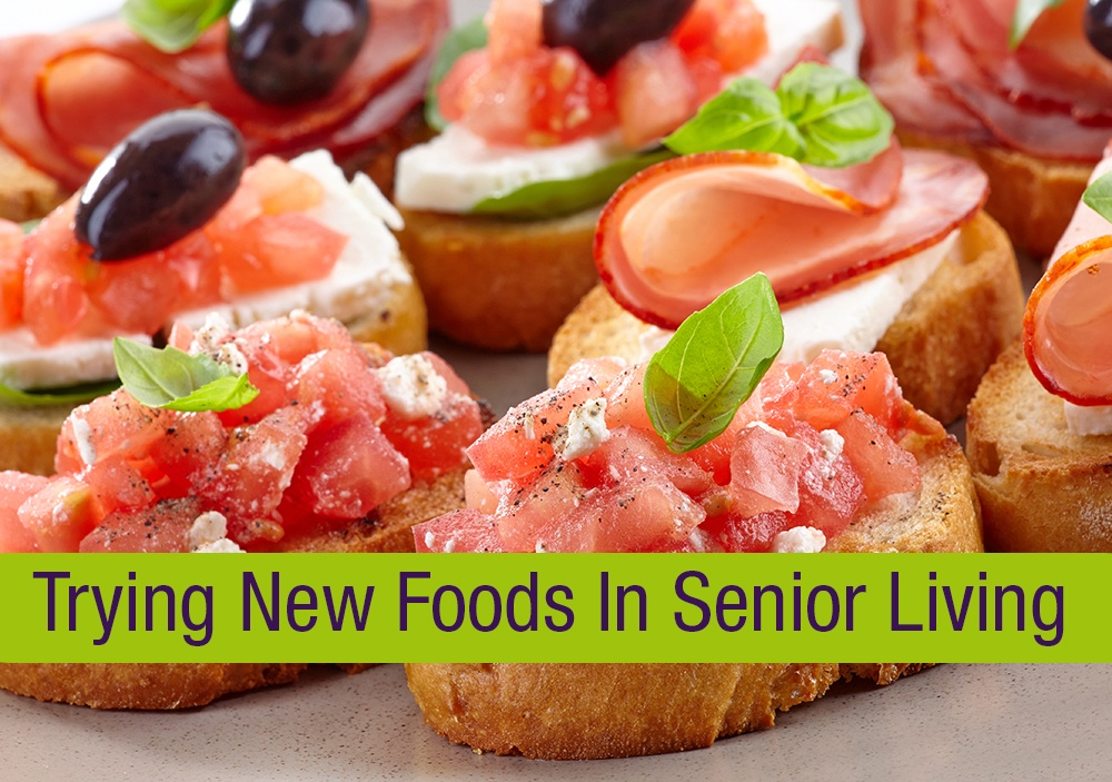 Senior Living New Foodservice Ideas