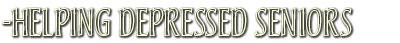 helpingdepressedseniors
