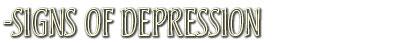 signsofdepression