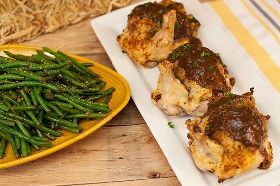 Food Service Menu Item: Stuffed Airline Chicken Breast