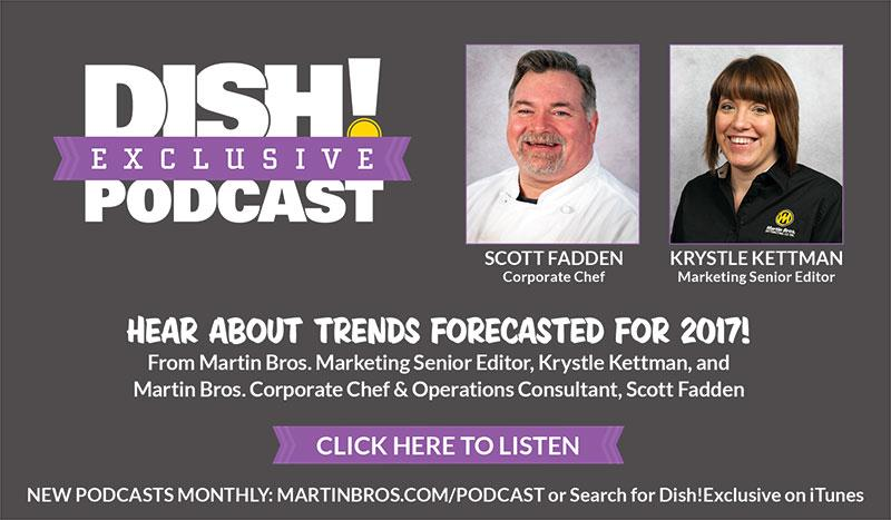 Foodservice Trends for 2017 Podcast