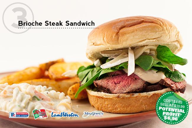 BriocheSteakSandwich