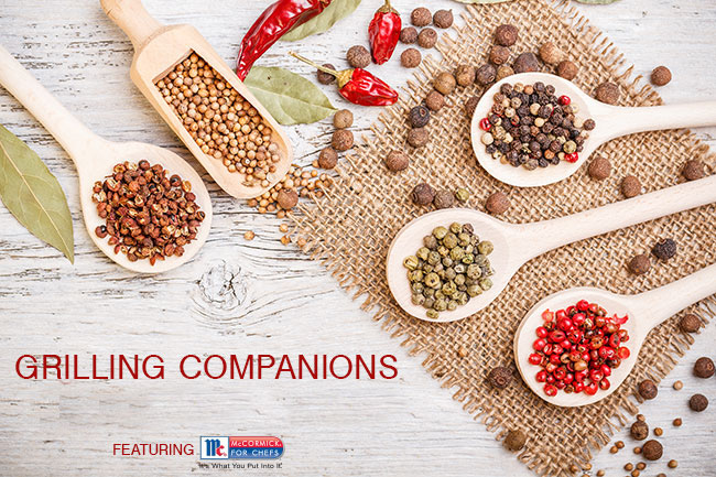 Foodservice Grilling Companions Header