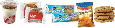 YogurtBagelsCookiesMore