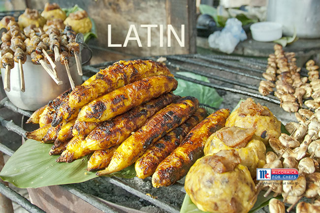 Foodservice Spices for Latin