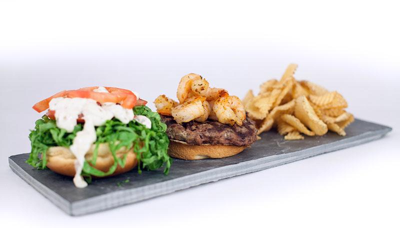 Foodservice Surf & Turf Burger