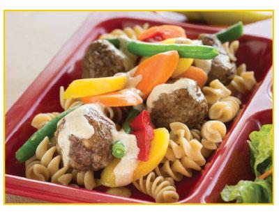 colors-meatball-noodles-vegetables